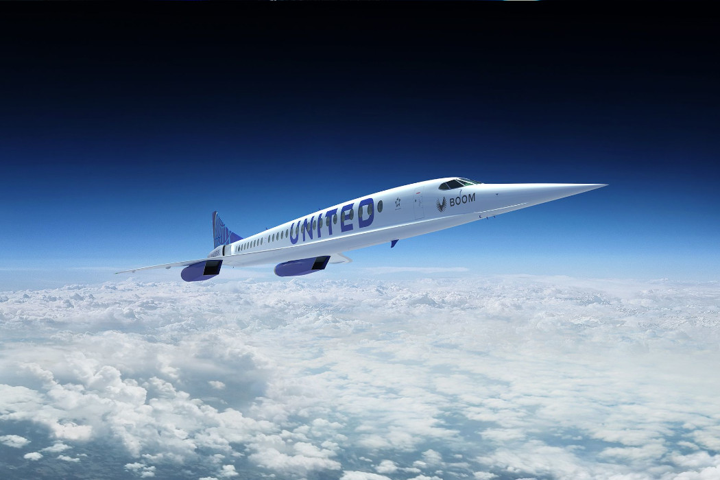 United Airlines is Buying Overture Jets That Can Break Speed-Barrier