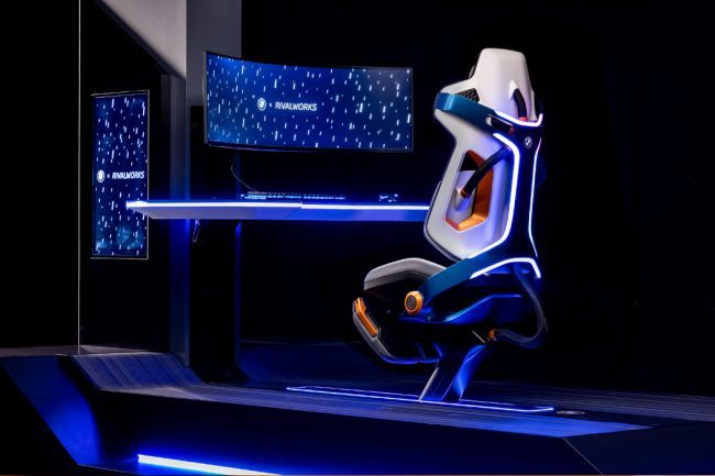 Here's Your First Look at the Futuristic BMW Gaming Chair Design