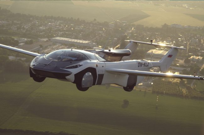 This Flying Car Has Successfully Completed Its First Inter-City Flight