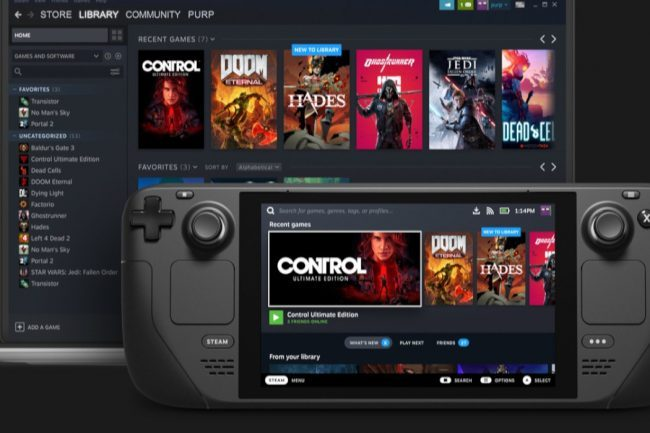Steam Deck: Valve Just Revealed Its Take on the Nintendo Switch