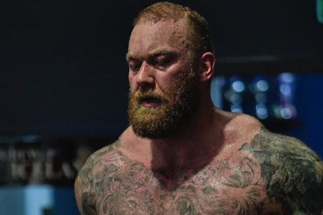 Thor Bjornsson aka The Mountain Goes From Bulky Lifter to Lean Fighter