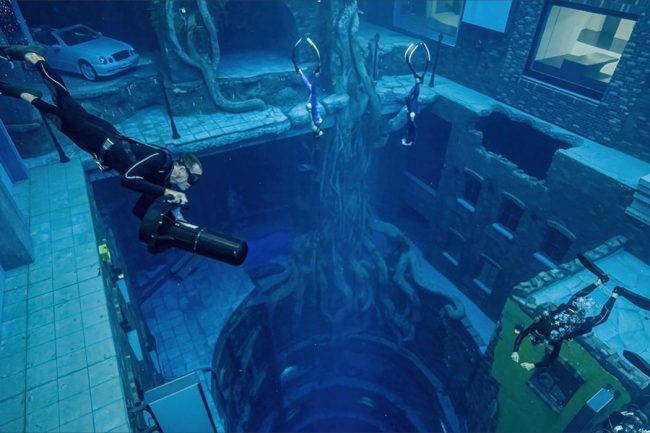 World's Deepest Pool Opens in Dubai, Features an Underwater City