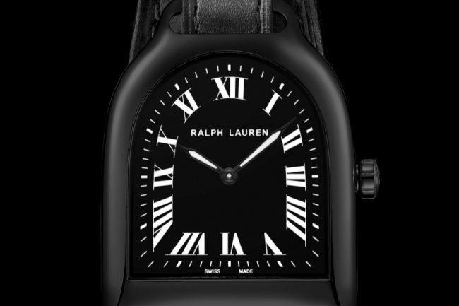 The New Stirrup Watch by Ralph Lauren Now Comes All Blacked Out