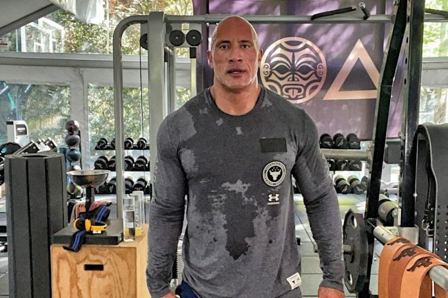 Dwayne The Rock Johnson Says He Showers Three Times A Day