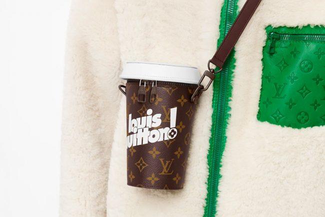 Louis Vuitton Unveils a Luxury Coffee Cup Pouch Worth AU$3,200