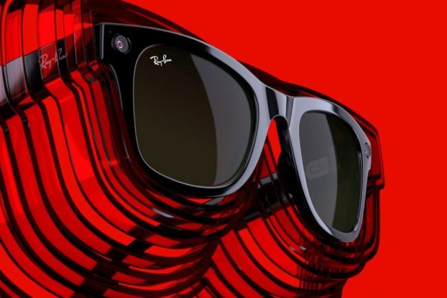 Facebook Finally Unveils the Ray-Ban Smart Glasses