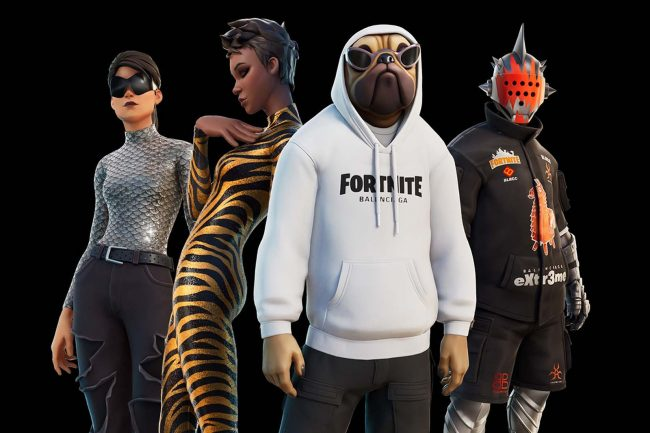 Balenciaga Partners with Fortnite On Real and In-Game Outfits