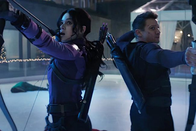 Hawkeye Trailer Shows Clint Barton and Kate Bishop's Holiday Adventure