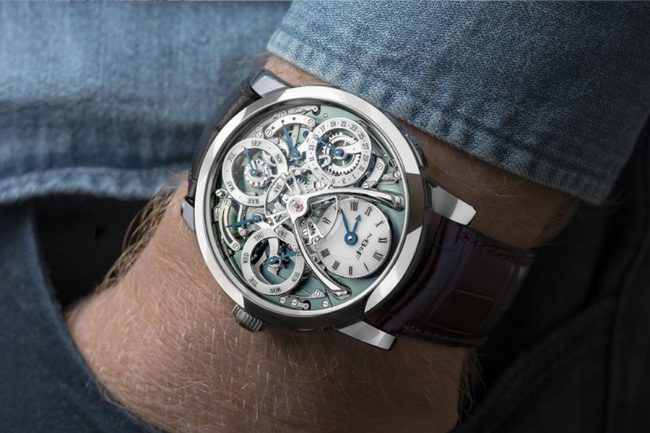 MB&F is Now Making the Legacy Machine Perpetual in Palladium