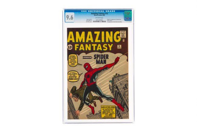 Spider-Man: The Superhero's Comic Debut Got Sold For US$3.6 Million