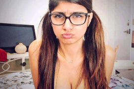 Mia Khalifa Auctions Infamous Glasses From Her Adult Films For Beruit